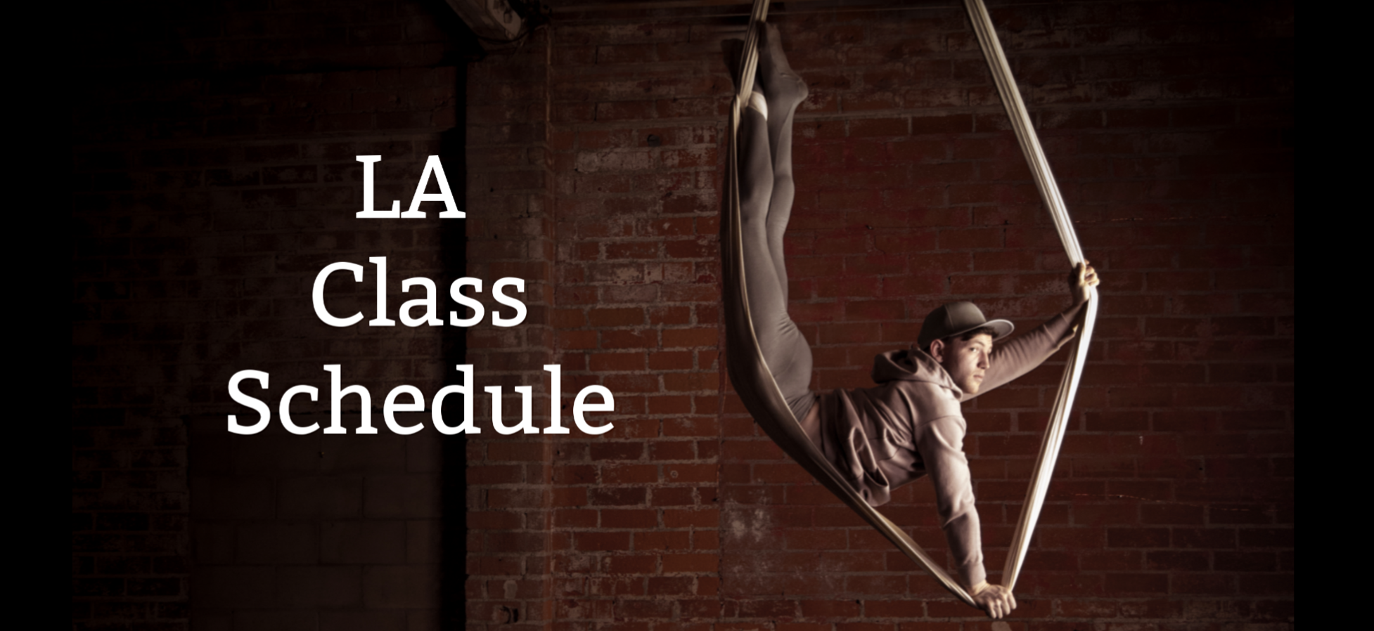 Los Angeles Class Schedule